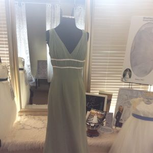 Dresses & Skirts - Sage Green Chiffon Formal